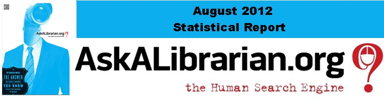 August 2012 Stats