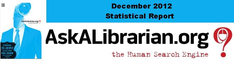 December 2012 Stats