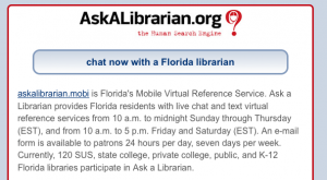 Ask a Librarian Mobile Chat