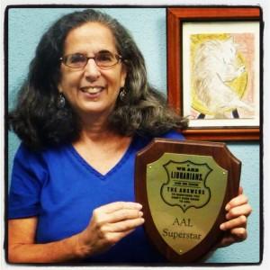 Susan Weiss, September AAL SuperStar