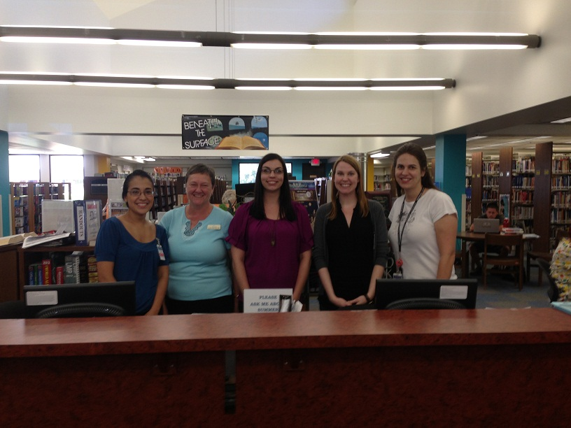 Northwest Branch: Adriana Valencia; Louise Blackwelder; Silence Bourn; Sara Gonzalez; Lisa Laird-Smith