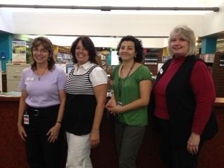 West Branch: Gigi Oien;Joann Crepaz;Norma Medina-Ortiz;Karen Snead