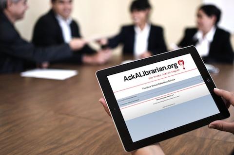 Ask a Librarian iPad App