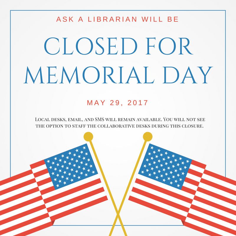 2017 May The 4th Be With You: Ask A Librarian News And Information