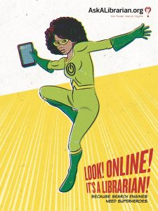 Look! Online! It's A Librarian!